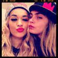 Rita & Cara - rita-ora photo