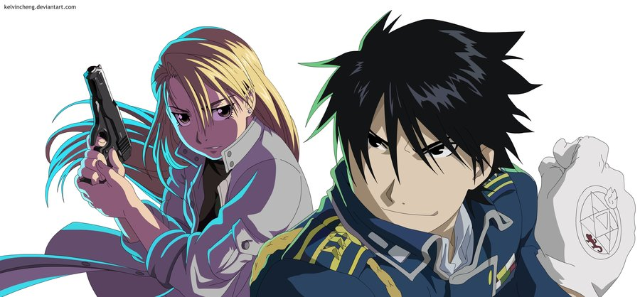 Edward Elric Sexy Roy Mustang images Roy...