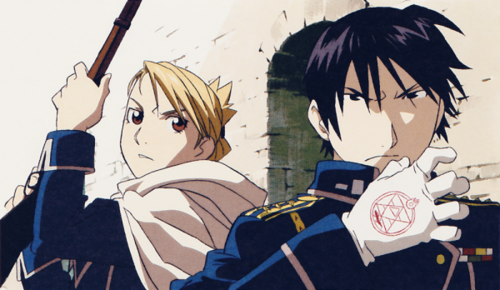 full metal alchemist couples দেওয়ালপত্র possibly containing জীবন্ত entitled Roy & Riza