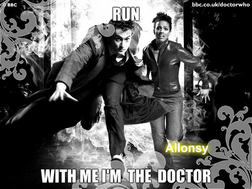 Run with me i'm the doctor