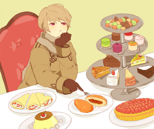 hetalia - axis powers - axis powers wallpaper probably containing a frosted layer cake, a holiday dinner, and a jantar called Russia ~