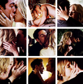 S4 kisses.  - tyler-and-caroline fan art