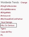 SHINee's &quot;Why So Serious&quot; is trended at # 7 Worldwide during Music Bank 700 Speiclal Stage - shinee photo