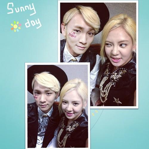 SNSD Hyoyeon's Instagram Update ~ with Key 130511 - Girls ...  SNSD Hyoyeon'...