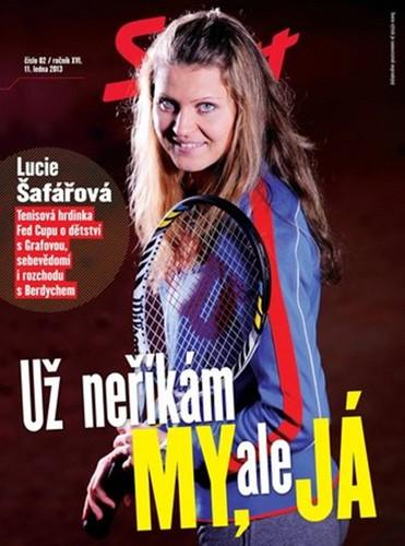 Safarova about ex Berdych : I'm not saying we , but I !