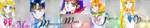 Sailor Moon icona Banners