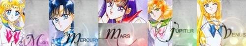 Sailor Moon প্রতীকী Banners