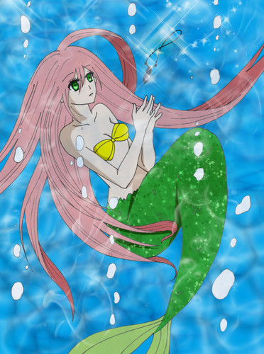 "Sakura ""the little mermaid"""