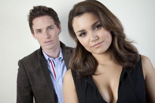 Samantha & Eddie LA Times Photoshoot
