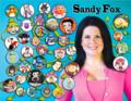 Sandy Fox voice of Betty Boop