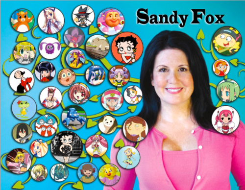 Sandy Fox voice of Betty Boop