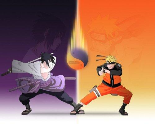 Sasuke & नारूटो