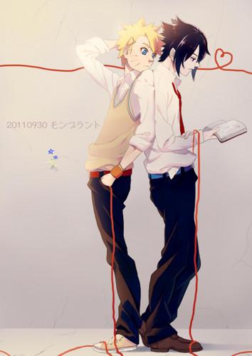 Sasuke vs नारूटो