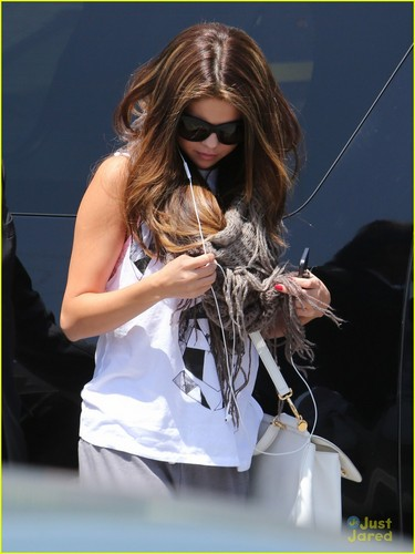 Selena in may 15 afternoon at dance studio ,Calif