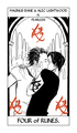 Shadowhunter Tarot Cards - alec-and-magnus fan art