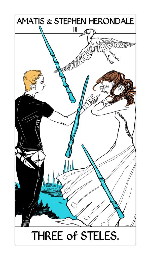 Shadowhunter Tarot Cards Shadowhunter Chronicles Fan Art
