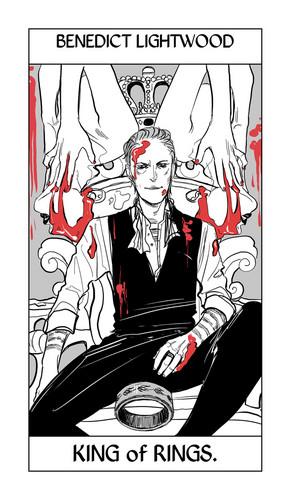 Shadowhunter Tarot Cards