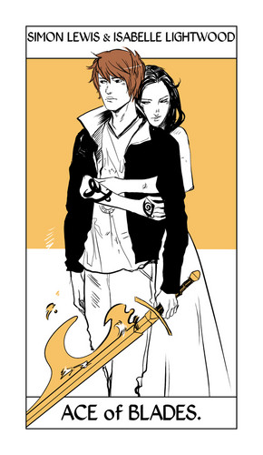 Simon & Isabelle images Shadowhunter Tarot Cards HD ...
