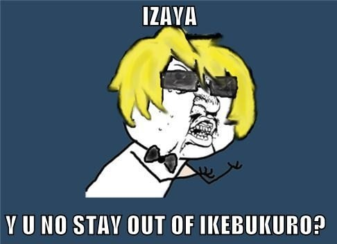 Shizuo's anger
