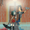 Singing in the rain - total-drama-island fan art