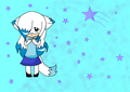 Snowy The fox ((New Style)) in chibi form~ - sonic-fan-characters photo