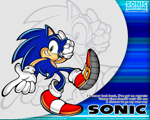 Sonic the Hedgehog cool pics