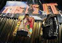 "Stage Costumes From ""This Is It"" konsert Tour"