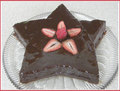 Star Shaped Chocolate Cake