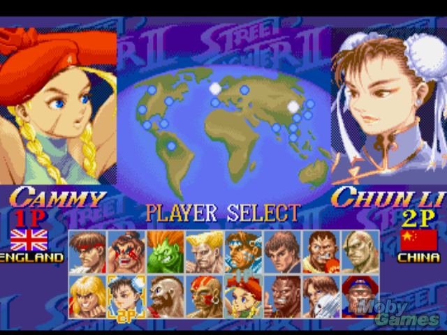 Street Fighter Collection Screenshot Street Fighter Photo
