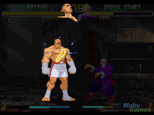 通り, ストリート Fighter Collection screenshot