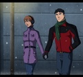 SuperMartian Winter Stroll (powerless) - young-justice photo