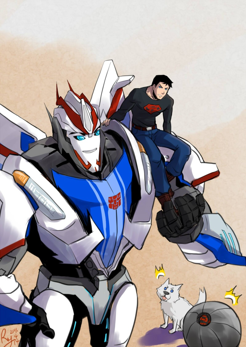 Superboy and Smokescreen