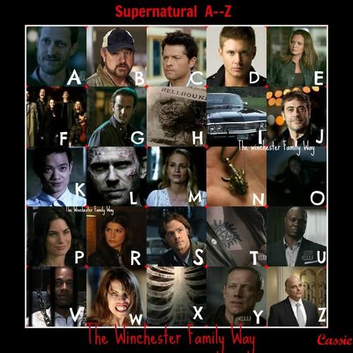 Supernatural A-Z