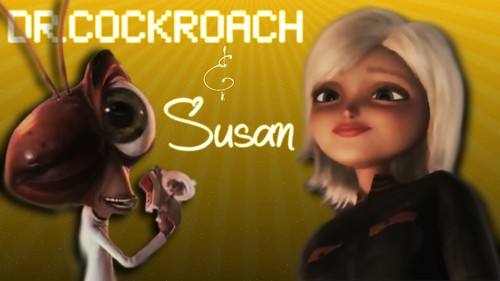 Susan and Dr.Cockroach پیپر وال