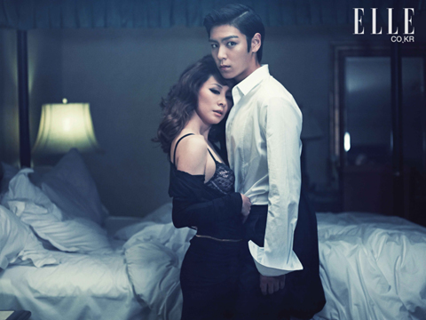 malaking putok wolpeyper containing a living room, a hotel room, and a bedroom titled T.O.P for ELLE (August 2010)