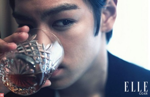 T.O.P for ELLE (August 2010)