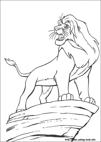the lion king wallpaper entitled TLK coloring pages