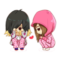 Taeyeon & Jessica - running-man fan art