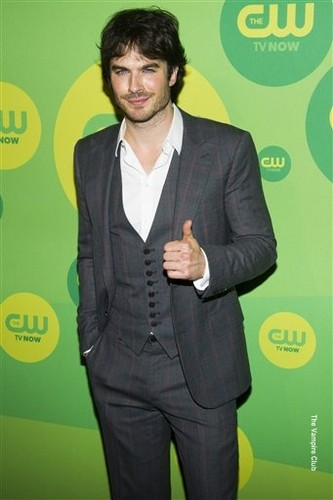 The CW's 2013 Upfront: Ian Somerhalder