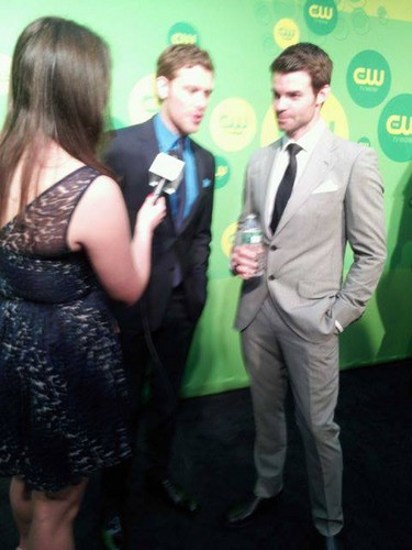 The CW's 2013 Upfront: Joseph モーガン, モルガン and Daniel Gillies