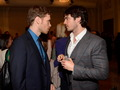 The CW's 2013 Upfront: Joseph Morgan and Ian Somerhalder - the-vampire-diaries-tv-show photo