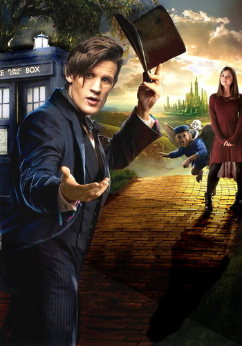The Doctor and Clara- OZ Style!