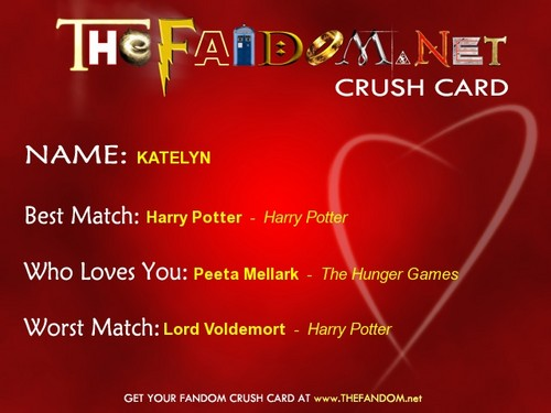 The Fandom Crush Card