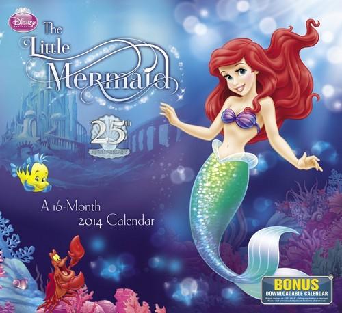 The Little Mermaid Calendar