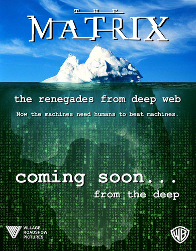 The Matrix wallpaper probably with a sign called The Matrix new saga