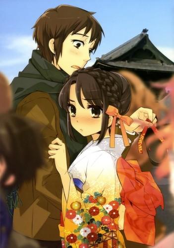 The Melancholy of Haruhi Suzumya