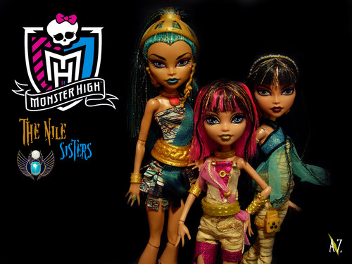 Monster High wallpaper entitled The Nile Sisters