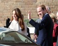 The Royal Couple Visits a UK Charity  - prince-william photo