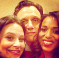 The Scandal cast takes over Good Morning America - scandal-abc photo