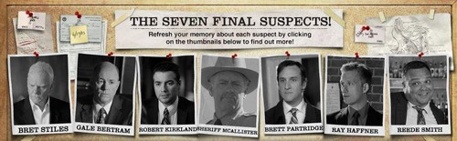 The Seven Final RJ Suspects